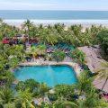 Legian Beach Hotel - Frangipani Pool aerial view