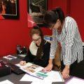 Motive Travel Jessica and Katrina at work